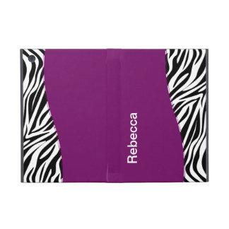 Zebra iPad Mini Folio Case Case For iPad Mini