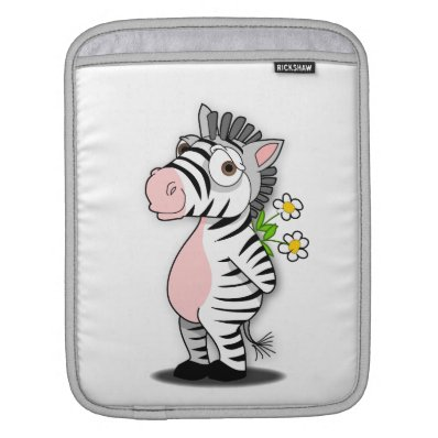 Zebra iPad Sleeves