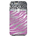 Zebra iPhone 6 Tough Jewelry Glitter Tough iPhone 6 Case