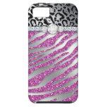 Zebra iPhone Case Mate Tough Jewelry Glitter iPhone 5 Cases