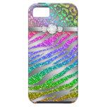 Zebra iPhone Case Mate Tough Rainbow Glitter S iPhone 5 Cases