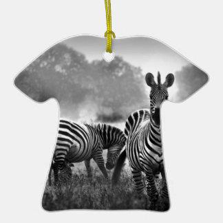 zebra.jpg christmas ornament