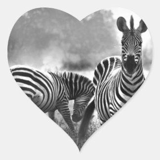 zebra.jpg heart sticker