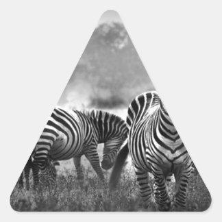 zebra.jpg triangle sticker