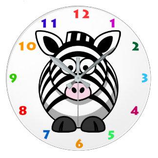 ZEBRA Kids Wall Clock