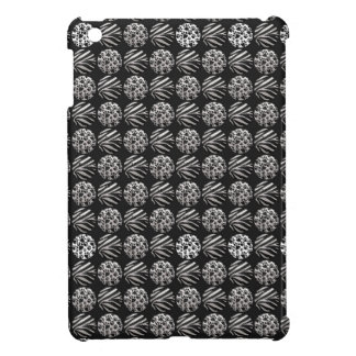 Zebra/kitty Paws Metal Textured iPad Mini Covers