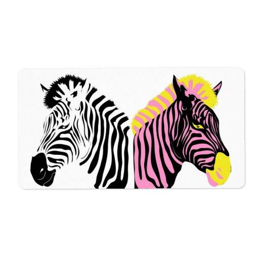 Zebra label | Zazzle