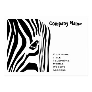 Zebra Large Business Card