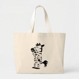 Zebra Large Tote Bag