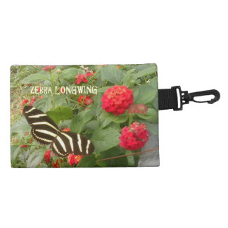 Zebra Lomgwing Butterfly Accessory Bag