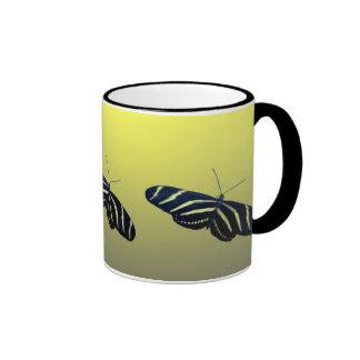 Zebra Longtail Ringer Coffee Mug