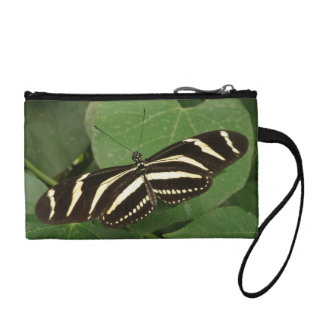 Zebra Longwing Butterfly Bagettes Bag Coin Purses