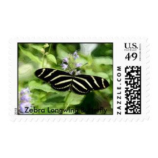 Zebra Longwing Butterfly Postage