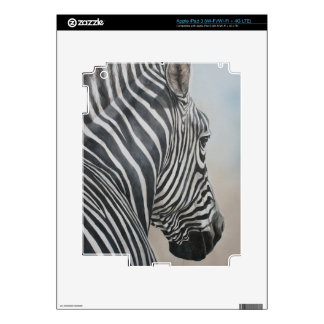 Zebra Look Wildlife Art IPad Skin