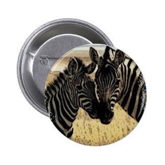 ZEBRA LOVE PINS