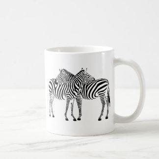 Zebra Love Classic White Coffee Mug