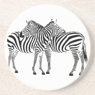 Zebra Love Coasters