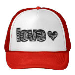 zebra love hats
