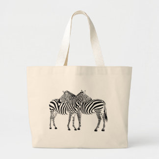 Zebra Love Jumbo Tote Bag