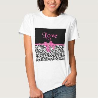 Zebra Love T Shirt