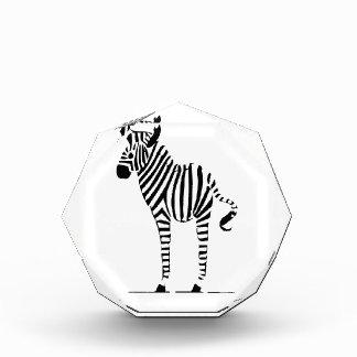 Zebra Lovers Gifts Acrylic Award