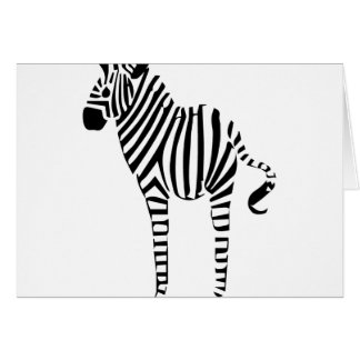 Zebra Lovers Gifts Greeting Card