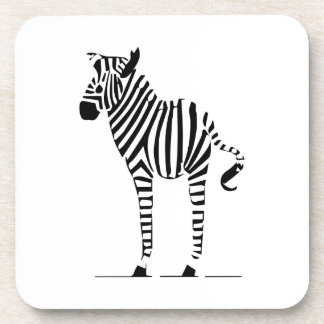 Zebra Lovers Gifts Drink Coasters
