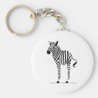 Zebra Lovers Gifts Keychain