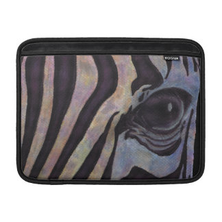 Zebra Macbook Air Horizontal (Lori Corbett) MacBook Air Sleeve