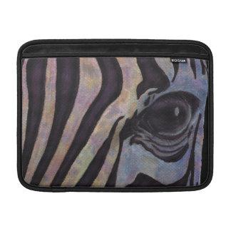 Zebra Macbook Air Horizontal (Lori Corbett) MacBook Sleeve