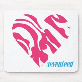 Zebra Magenta 2 Mousepad
