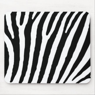 Zebra-markings Mouse Pad