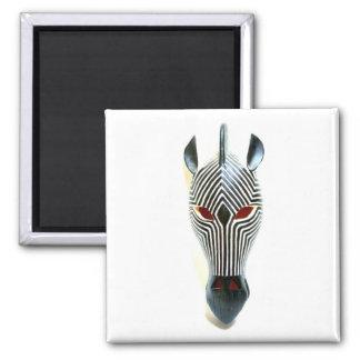 zebra mask magnet