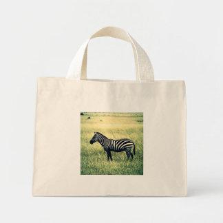 Zebra Mini Tote Bag