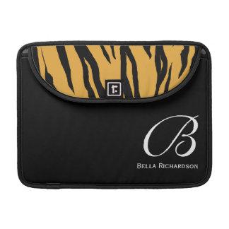 Zebra Monogram MacBook Pro Sleeve 13