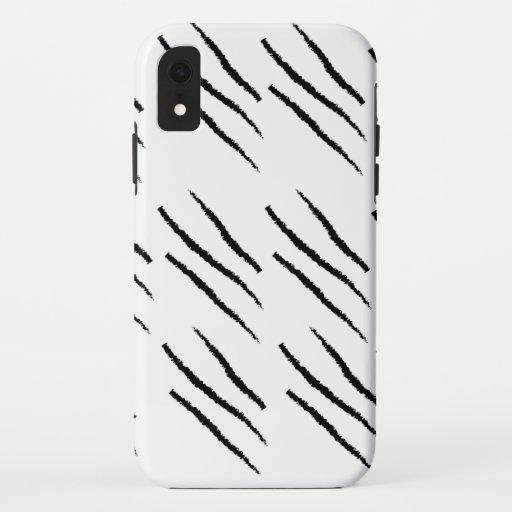Zebra motif Iphone XR case
