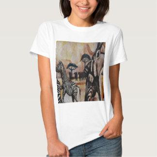 Zebra Mural Shirt