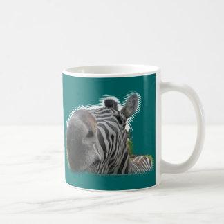 Zebra Nose Closeup Coffee Mug