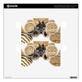 Zebra on the Savannah PS3 Controller Skins