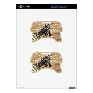 Zebra on the Savannah Xbox 360 Controller Skins