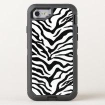 Zebra OtterBox Defender iPhone 7 Case