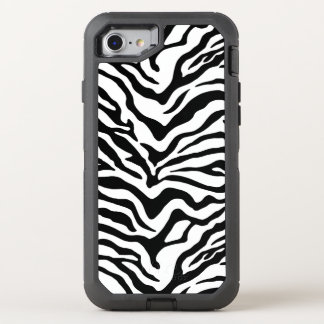 Zebra OtterBox Defender iPhone 7 Case