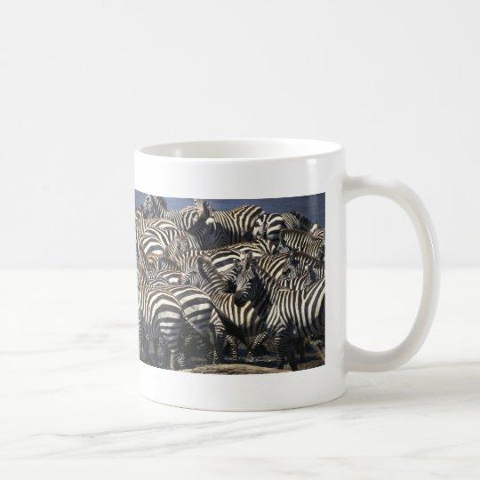Zebra Pack Coffee Mug