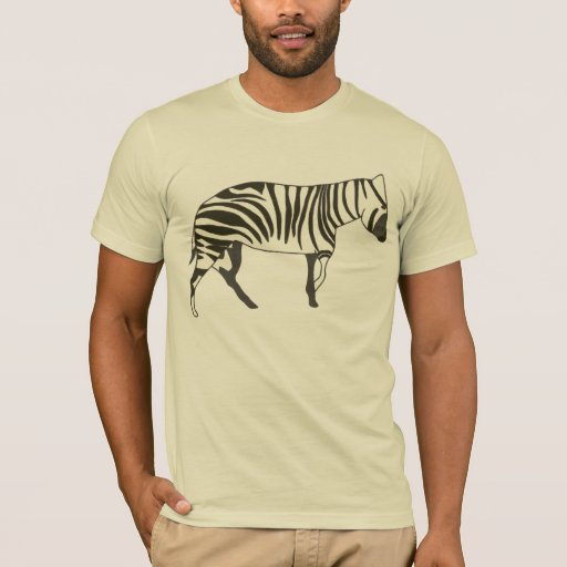 Zebra painting, animal wildlife t shirt