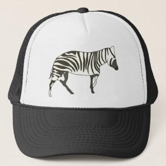 Zebra painting, wildlife hat by CherylsArt