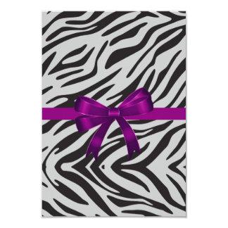 Zebra Party Invitation bachelorette party Custom Invitation