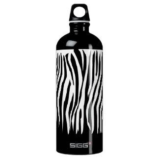 Zebra Pattern Aluminum Water Bottle