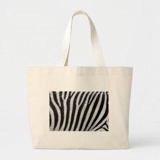 Zebra Pattern Canvas Bags