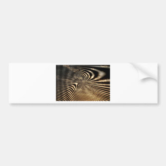 Zebra Pattern Design by Admiro Bumper Sticker