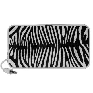 Zebra Pattern Doodle Speaker